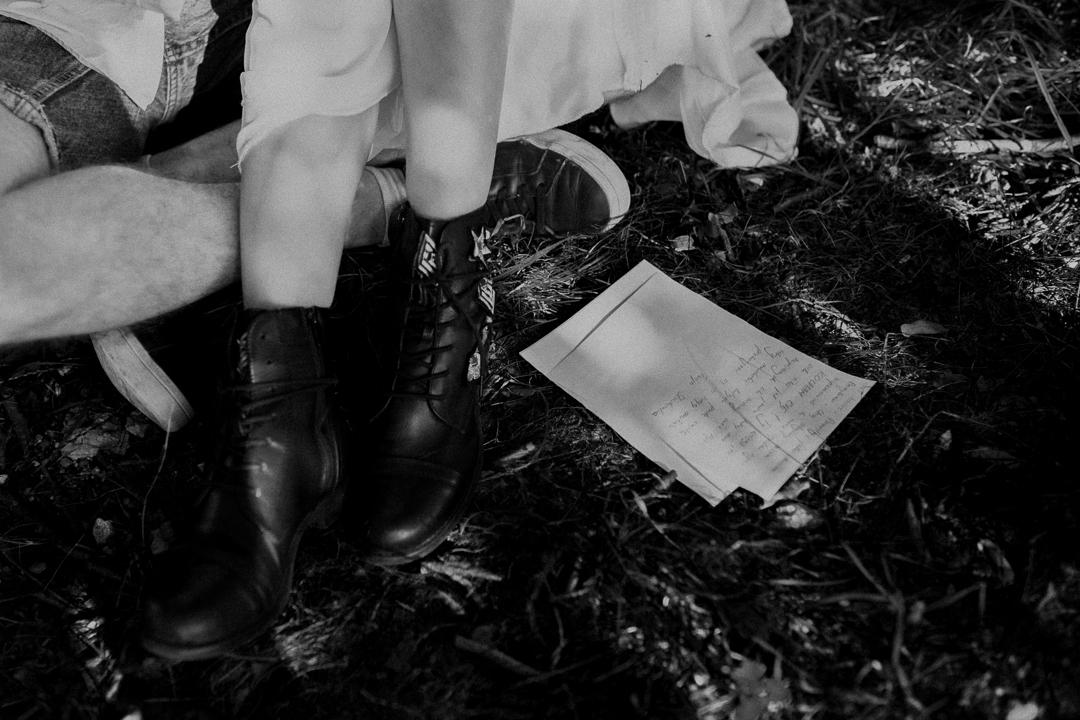love letter młoda para