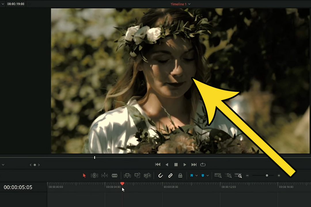 montaż filmu ślubnego davinci resolve poradnik