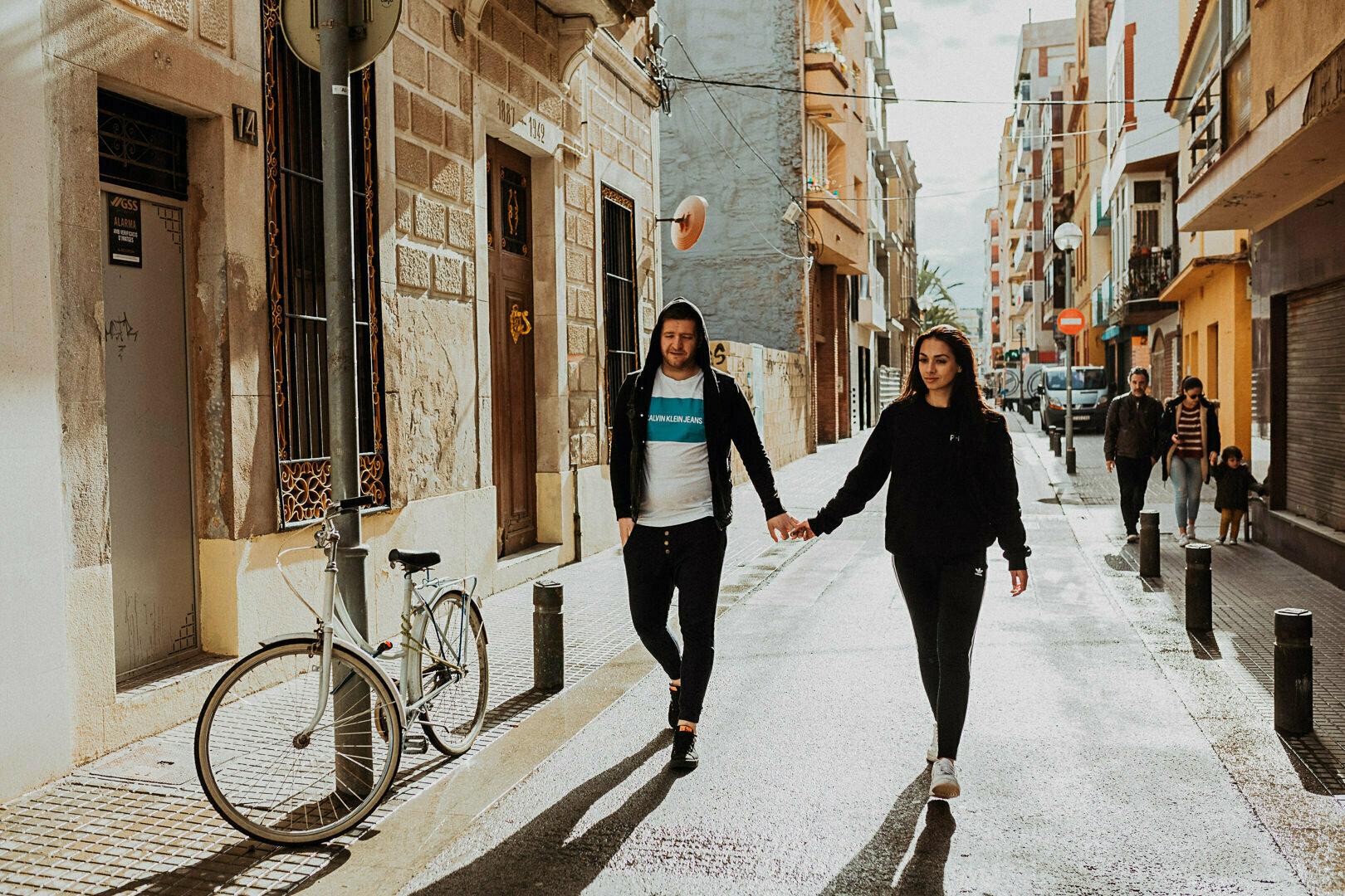 sesja ślubna barelona fotograf ślubny hiszpania gentleman wedding story
